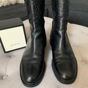 Gucci Shoes - Gucci Guccissima Boots